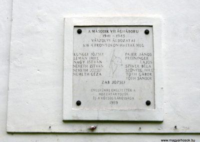 Vászoly világháborús hősök emlékhelye 2010.05.15. küldő-Sümec (2)