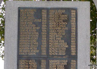 Vép II. világháborús emlékmű 2014.10.23. küldő-kalyhas (4)