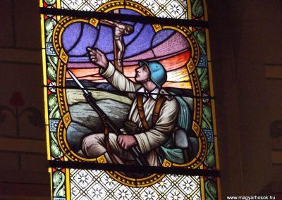 Vép templom belső ablak I. világháborús emlék 2014. 10.23. küldő-kalyhas (1)