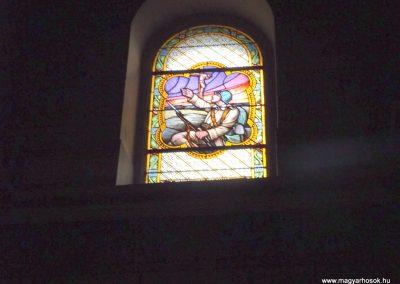 Vép templom belső ablak I. világháborús emlék 2014. 10.23. küldő-kalyhas