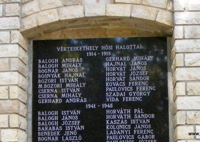 Vérteskehely világháborús emlékmű 2012.08.13. küldő-Méri (2)