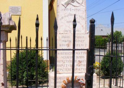 Vértessomló I. világháborús emlékmű