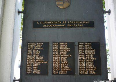 Vésztő világháborús emlékmű 2009.07.28. küldő-Sümec (7)