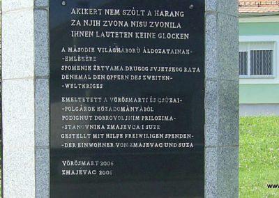 Vörösmart II. világháborús emlékmű 2016.08.05. küldő-Bagoly András (1)