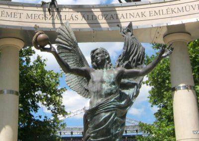 V. kerület Szabadság tér A német megszállás emlékműve 2018.07.03. küldő-Bali Emese (8)