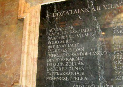 VI. kerület Andrássy út Képzőművészeti egyetem II. vh emléktábla 2018.07.05. küldő-Bali Emese (3)