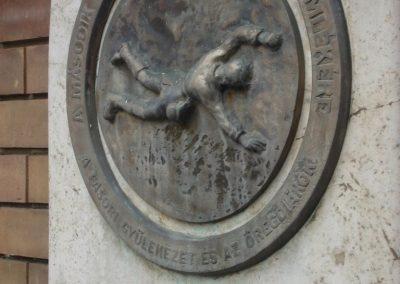 VII.kerület Erzsébetváros Városligeti fasor II.vh emlékmű 2008.04.10. küldő-Huszár Peti (2)