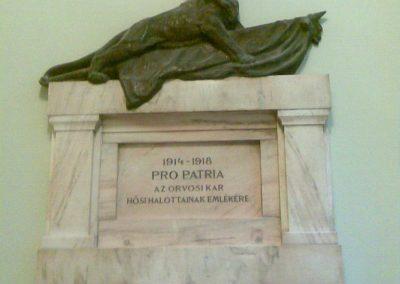 VIII. kerület Üllői út 26. SOTE I. világháborús emlékmű 2012.10.12. küldő-Huszár Peti (1)