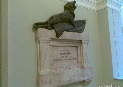 VIII. kerület Üllői út 26. SOTE I. világháborús emlékmű 2012.10.12. küldő-Huszár Peti