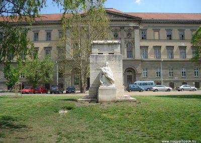 Budapest VIII kerület I-II. világháborús emlékmû