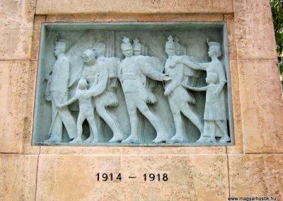 VIII. kerület Harminckettesek tere 32-es Mária Terézia Budapesti Háziezred emlékműve - felújítás után 2014.07.22. küldő-Emese (2)