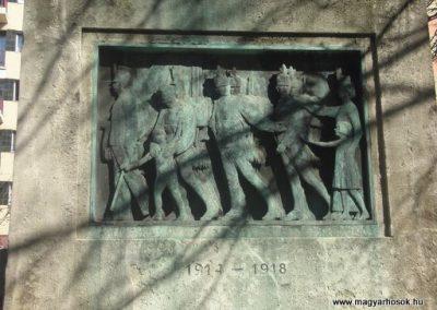 VIII. kerület Harminckettesek tere A 32-es Bp-i háziezred emlékműve 2008.04.02.küldő-Huszár Peti (3)