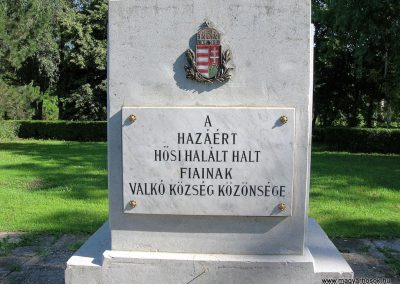 Valkó - www.magyarhosok.hu