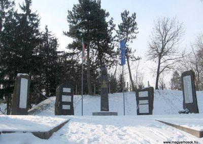 Vanyarc Hősi emlékmű 2010.01.26. küldő-kalyhas