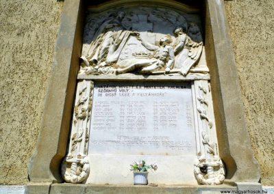 Vanyola róm. kat. templom világháborús emléktáblák 2014.07.14. küldő-Méri (2)