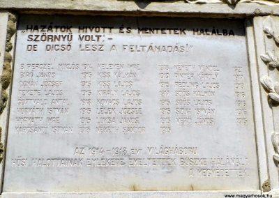 Vanyola róm. kat. templom világháborús emléktáblák 2014.07.14. küldő-Méri (4)