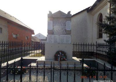 Vasad világháborús emlékmű 2015.02.19. küldő-kalyhas (2)