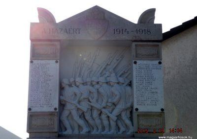 Vasad világháborús emlékmű 2015.02.19. küldő-kalyhas (3)