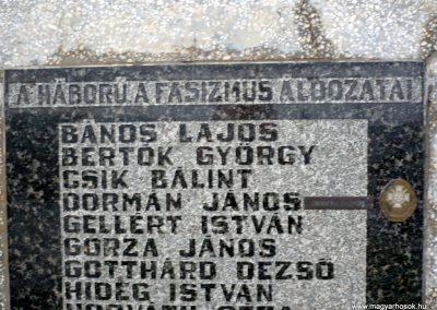 Vasboldogasszony II. világháborús emlékmű 2013.10.17. küldő-Sümec (4)