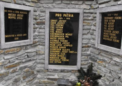 Vaskeresztes világháborús emlékmű 2009.01.13. küldő-gyurkusz (1)