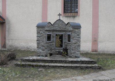 Vaskeresztes világháborús emlékmű 2009.01.13. küldő-gyurkusz