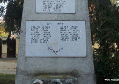 Vassurány világháborús emlékmű 2009.10.07. küldő-Prófusz György (3)