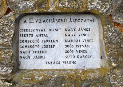 Vasszécseny világháborús emlékmű 2014.10.23. küldő-kalyhas (3)