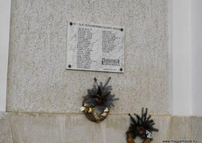 Vasszilvágy világháborús emléktábla 2009.01.22.küldő-gyurkusz