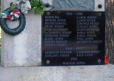 Vejti világháborús emlékmű 2014.06.20. küldő-Bagoly András (4)