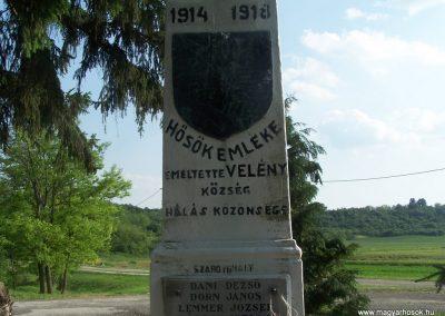 Velény világháborús emlékmű 2009.05.25.küldő-Horváth Zsolt (2)