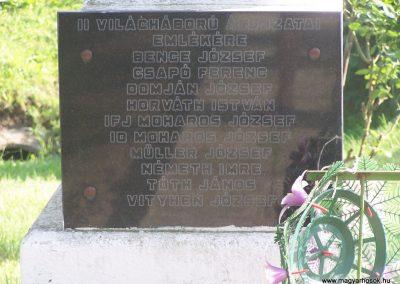 Velény világháborús emlékmű 2009.05.25.küldő-Horváth Zsolt (4)