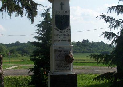 Velény világháborús emlékmű 2009.05.25.küldő-Horváth Zsolt (5)