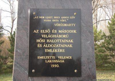 Velence világháborús emlékmű 2006.11.07. Küldő-Atus (1)