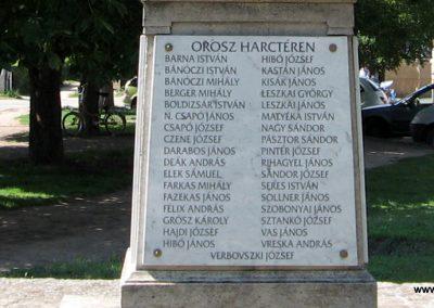 Veresegyház I.vh emlékmű 2007.06.11. küldő-Kályhás (14)