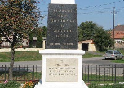 Verseg világháborús emlékmű 2009.09.28. küldő-kalyhas (7)