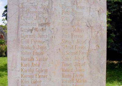 Veszprém - Gyulafirátót világháborús emlékmű 2013.05.21. küldő-Méri (1)