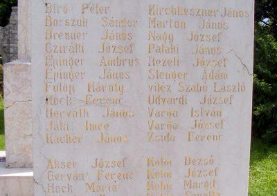 Veszprém - Gyulafirátót világháborús emlékmű 2013.05.21. küldő-Méri (3)