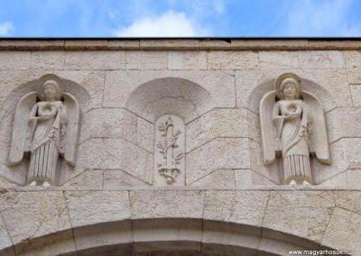 Veszprém Hősök kapuja I. világháborús emlék 2014.03.16. küldő-Méri (2)