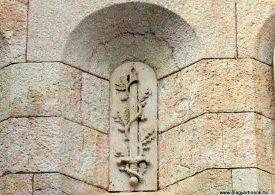 Veszprém Hősök kapuja I. világháborús emlék 2014.03.16. küldő-Méri (3)