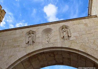 Veszprém Hősök kapuja I. világháborús emlék 2014.03.16. küldő-Méri (5)