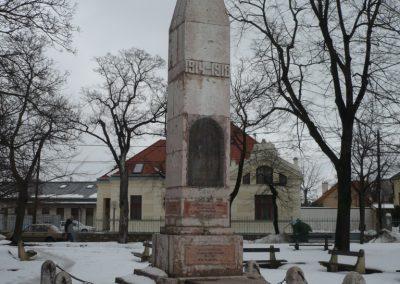 Veszprém I.vh emlékmű 2010.02.20. küldő-Sümec