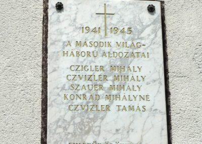 Veszprémfajsz világháborús emléktáblák 2010.05.30. küldő-Sümec (3)