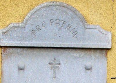 Vigántpetend világháborús emlékhely I.vh emléktábla 2009.07.28. küldő-HunMi (1)