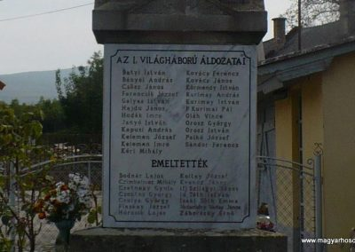 Vilmány világháborús emlékmű 2009.10.06. küldő-Gombóc Arthur (2)