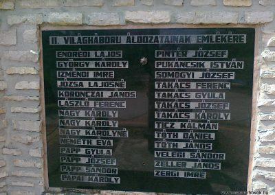 Vilonya II.vh emlékmű 2011.05.30. küldő-Csiszár Lehel (2)