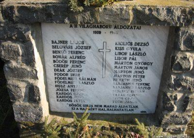 Vindornyaszőlős világháborús emlékmű 2008.01.21.küldő-Márkus József (4)