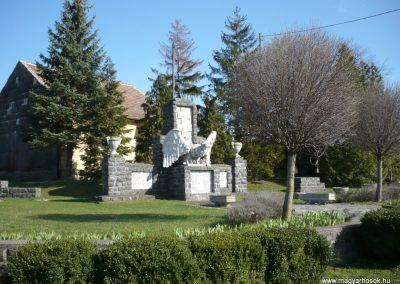 Vindornyaszőlős világháborús emlékmű 2013.04.14. küldő-Sümec