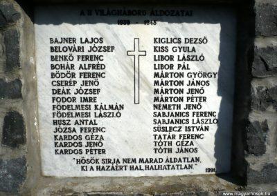 Vindornyaszőlős világháborús emlékmű 2013.04.14. küldő-Sümec (7)