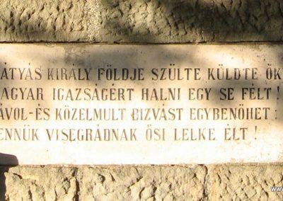 Visegrád világháborús emlékmű 2007.09.15. küldő-Kályhás (4)