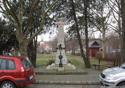 Visonta világháborús emlékmű 2009.03.27. küldő-kalyhas